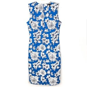 Banana Republic floral sheath dress